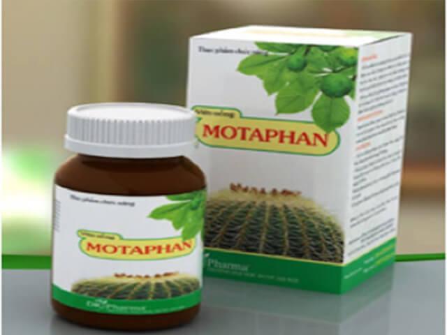 Có nhiều công dụng tuyệt vời nên có thể khẳng định Motaphan chữa bệnh trĩ rất tốt