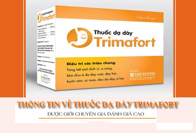 Thuốc chữa đau dạ dày Trimafort