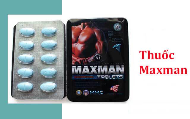 thuốc Maxman 3800mg có thành phần là gì?
