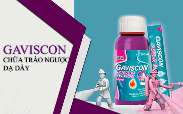 Thuốc điều trị dạ dày Gaviscon