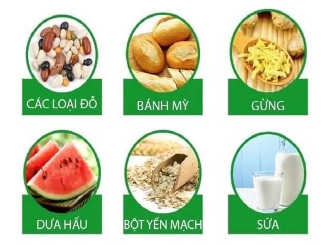 Trào ngược dạ dày nên ăn gì?