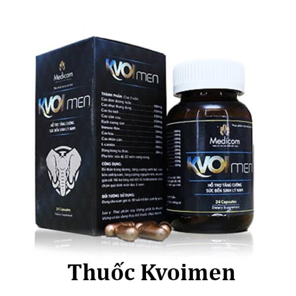 Kvoimen đang được bán với mức giá bao nhiêu?
