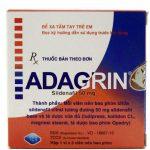 Adagrin 50mg Là Thuốc Gì, Giá Bao Nhiêu, Tác Dụng Bao Lâu