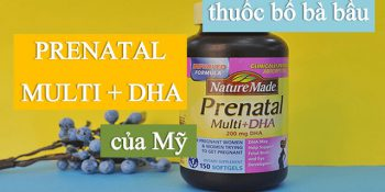 Prenatal DHA Là Thuốc Gì, Thành Phần, Có Tác Dụng Gì, Uống Như Thế Nào…