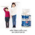 Thuốc Tăng Chiều Cao Gh Creation Ex: Cách Sử Dụng, Review, Mua Ở Đâu, Giá Bao Nhiêu….