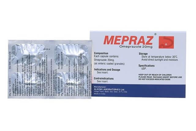 Cách phân biệt thật hay giả Mepraz