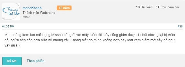 Phan Hoi Ve Kem Tan Mo Missha Webtretho 3