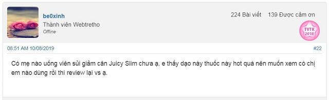 Đánh giá Juicy Slim