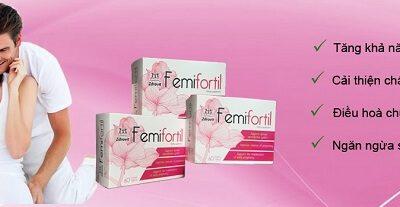 Review Femifortil: Thành Phần, Công Dụng, Cách Dùng, Giá Bán, Mua Ở Đâu…