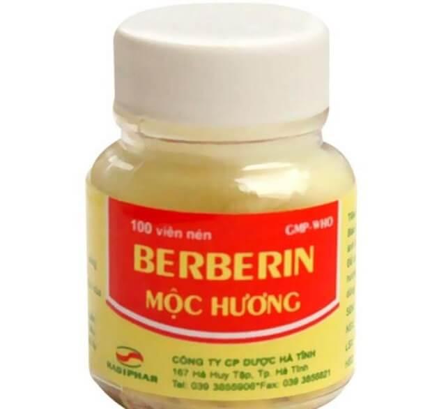 Berberin giá bao nhiêu tiền