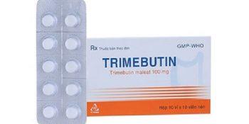 Trimebutine Maleate: Thành Phần, Công Dụng, Cách Dùng, Giá Bán, Tương Tác Thuốc