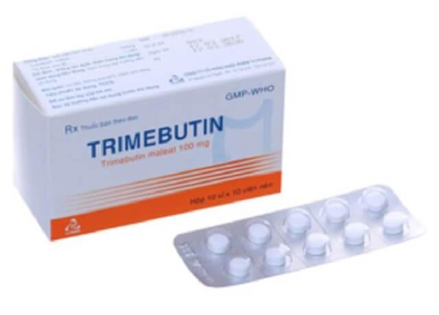 Cách dùng Trimebutine