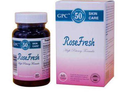 Review Viên Uống Trị Mụn Rose Fresh: Giá Bao Nhiêu 2019, Có Bán Ở Hiệu Thuốc Không, Công Dụng, Cách Dùng…