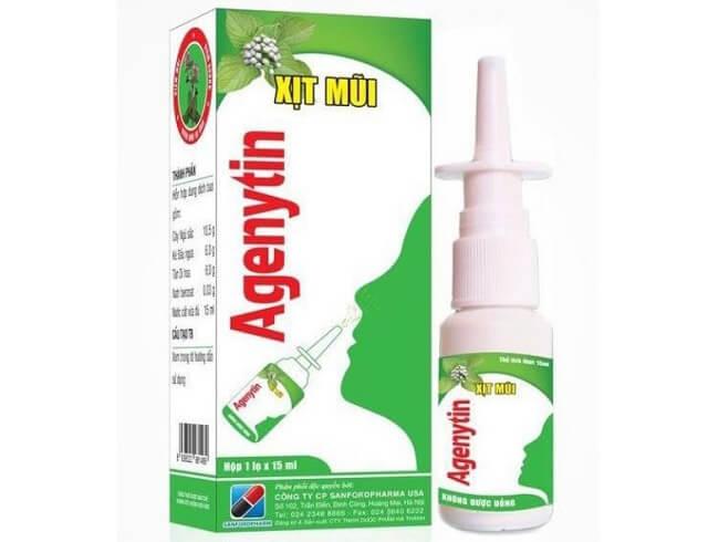 Thuốc xịt mũi agenytin