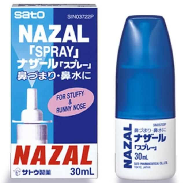 Thuốc xịt mũi nazal