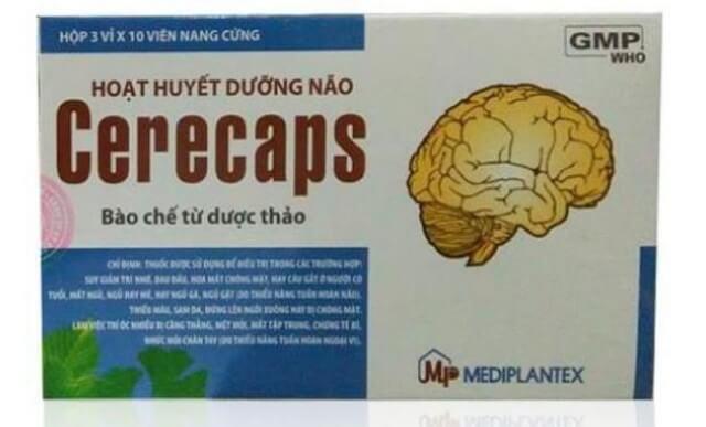 Thuốc Cerecaps có tác dụng gì
