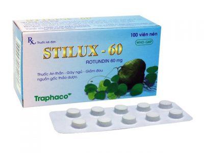 Thuốc Stilux 60 MG Là Thuốc Gì, Ngủ Được Bao Lâu, Giá Bao Nhiêu, Liều Dùng  Thế Nào
