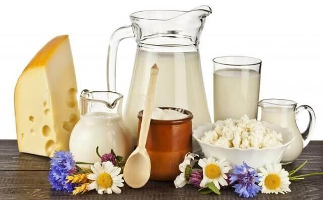Sữa tươi và các thực phẩm làm từ sữa