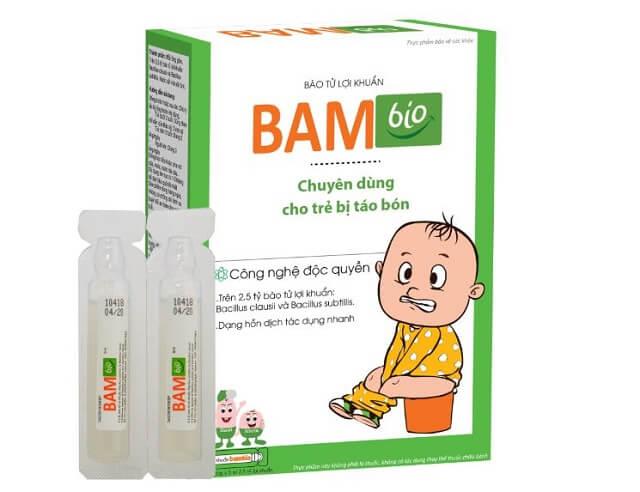 Thuốc trị táo bón Bambio