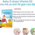 Cách Dùng Vitamin D3 Drops Cho Trẻ Sơ Sinh, Giá Bán, Mua Chính hãng Ở Đâu