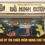 Mách mẹ những địa chỉ chữa viêm họng cho trẻ uy tín tại Hà Nội và Hồ Chí Minh