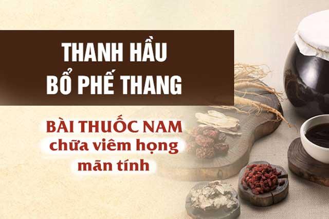 Thanh Hau Bo Phe Thang Chua Viem Hong Man Tinh