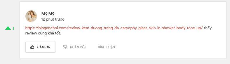 đánh giá Caryophy Glass Skin