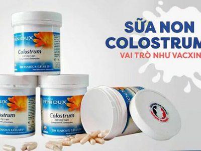 Sữa Non Pháp Fenioux Colostrum: Thành Phần, Công Dụng, Cách Dùng, Giá Bao Nhiêu