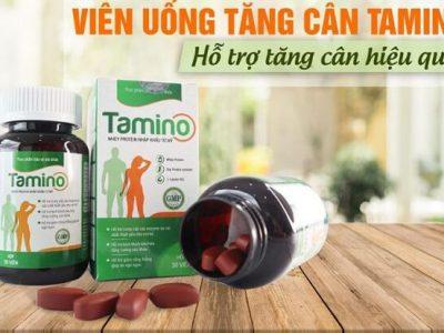 Viên Uống Tăng Cân Tamino: Công Dụng, Cách Dùng, Mua Ở Đâu