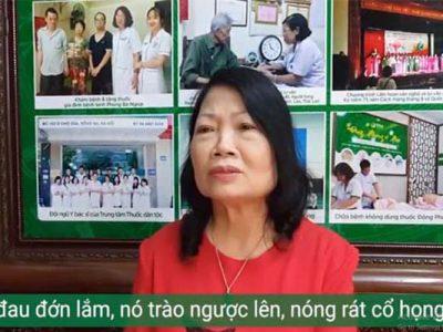 Thoát khỏi 10 năm sống chung với bệnh trào ngược dạ dày chỉ sau 1 tháng nhờ bài thuốc của Trung tâm Thuốc dân tộc
