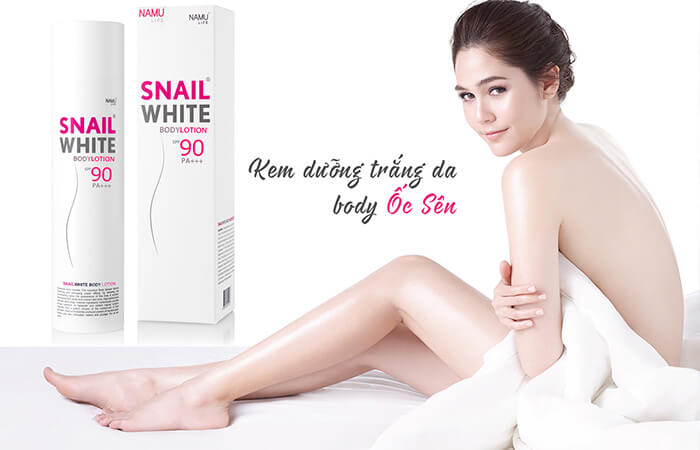 KEM BODY SNAIL WHITE