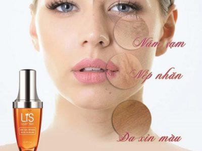 Tinh Chất Thông Đỏ Lis Lovin Skin Có Tốt Không, Có Bị Dị Ứng Không, Dông Dụng, Cách Dùng