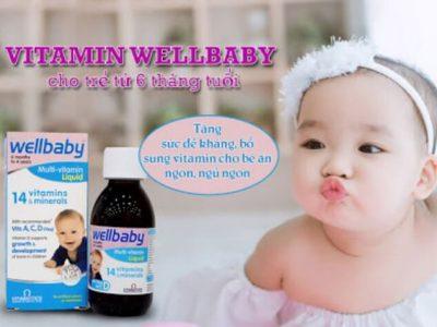 Vitamin Tổng Hợp Cho Bé Wellbaby: Thành Phần, Tác Dụng, Cách Sử Dụng, Nên Uống Lúc Nào