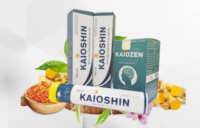 Công dụng viên sủi tiền đình Kaioshin