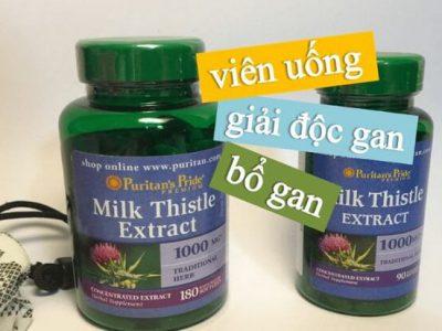 Thuốc Bổ Gan Milk Thistle Extract 1000mg: Công Dụng, Cách Dùng, Mua Ở Đâu
