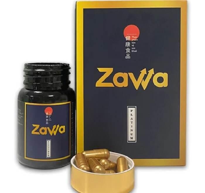 Công dụng Zawa Platinum