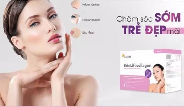 Skinlift Collagen Giá Bao Nhiêu 2020 Mua Chính Hãng Ở Đâu, Công Dụng Cách Dùng